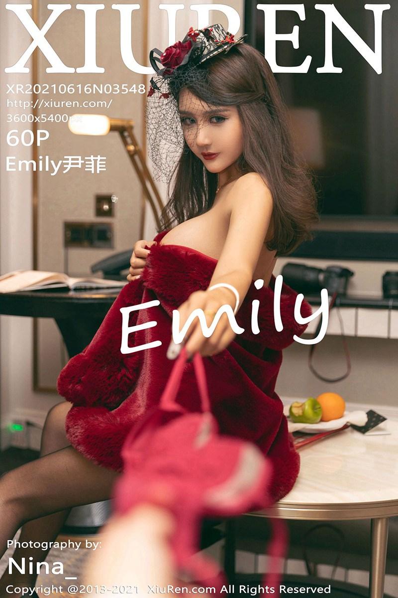 [XiuRen秀人网] 2021.06.16 No.3548 Emily尹菲 [60+1P]