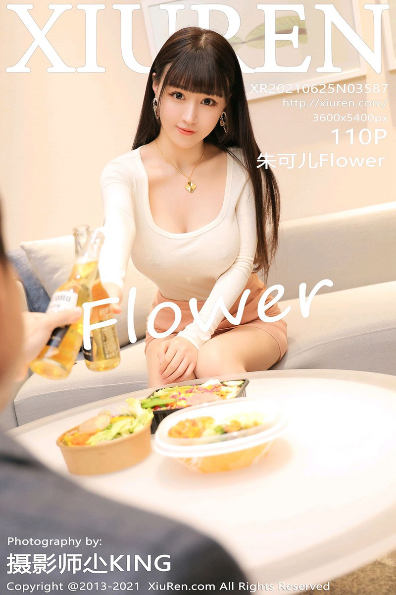 [XiuRen秀人网] 2021.06.25 No.3587 朱可儿Flower [110+1P]
