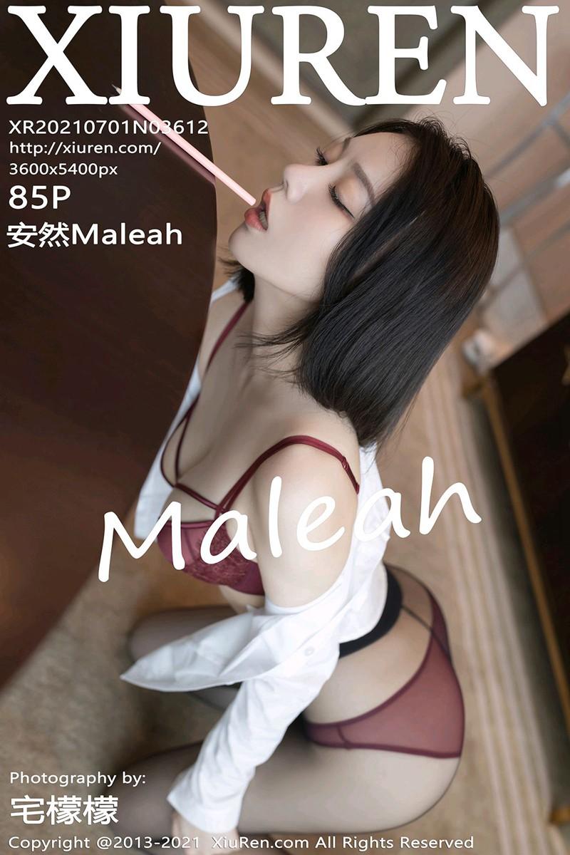 [XiuRen秀人网] 2021.07.01 No.3612 安然Maleah [85+1P]