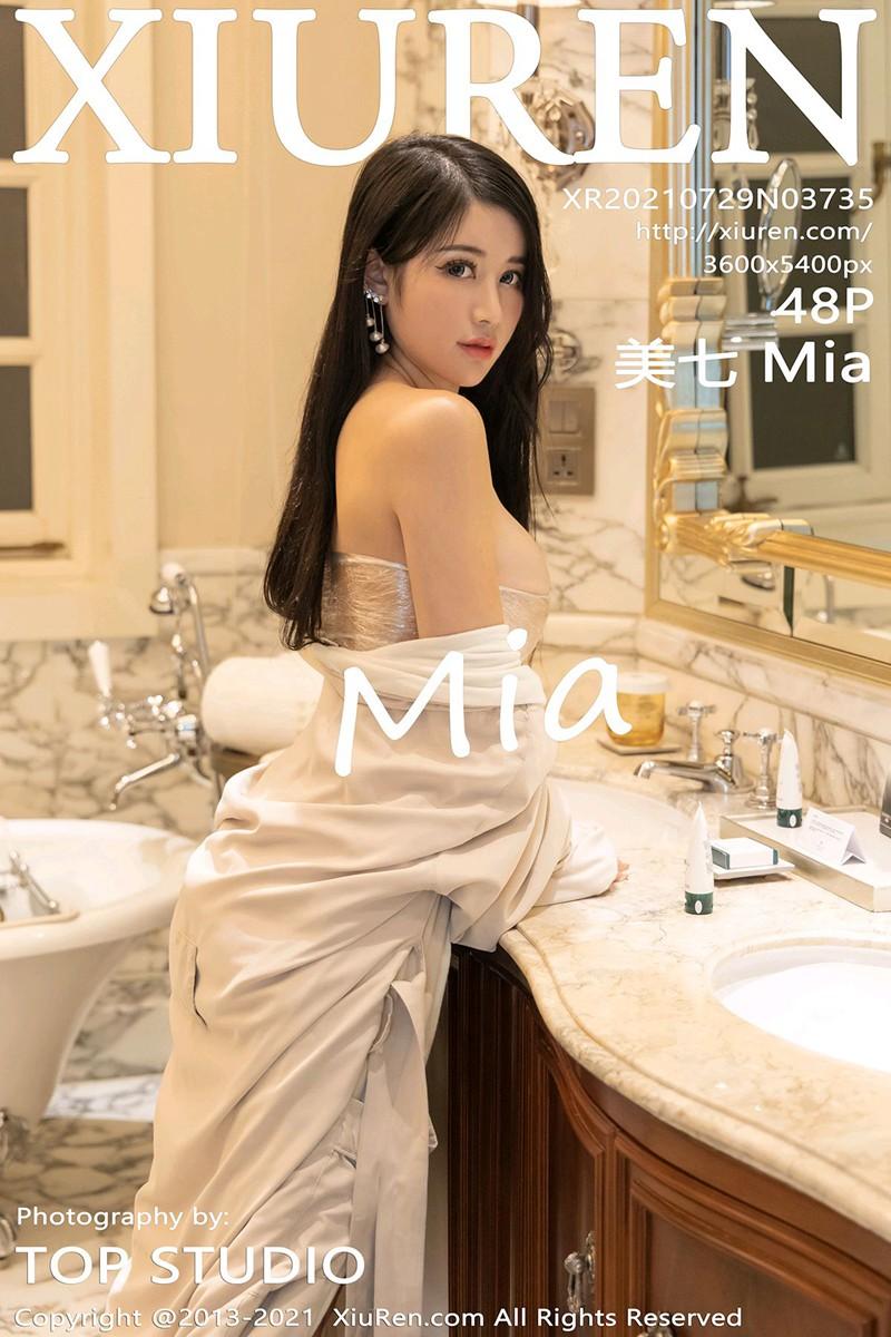 [XiuRen秀人网] 2021.07.29 No.3735 美七 Mia [48+1P]