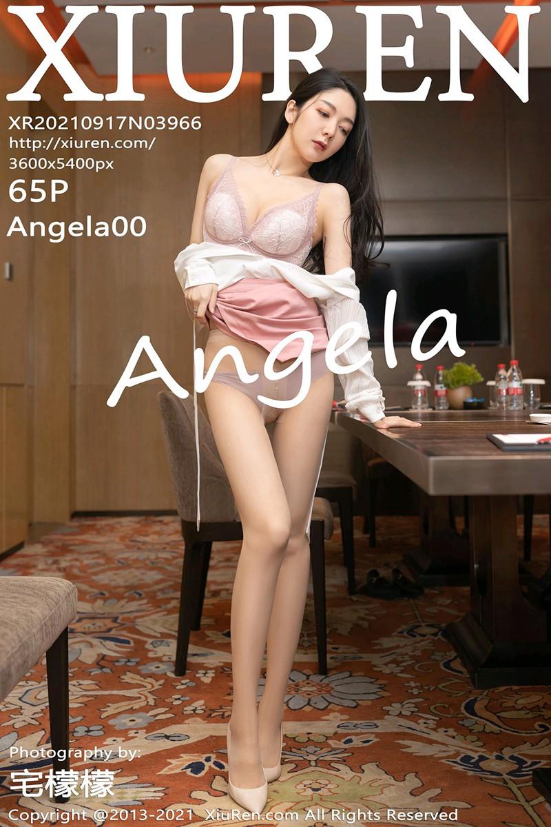 [XiuRen秀人网] 2021.09.17 No.3966 Angela小热巴 [65+1P]